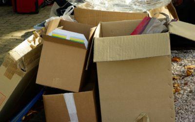Info tri : jeter ses cartons